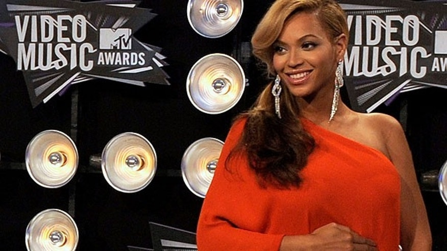 Aug. 28: Beyonce arrives at the MTV Video Music Awards in Los Angeles.