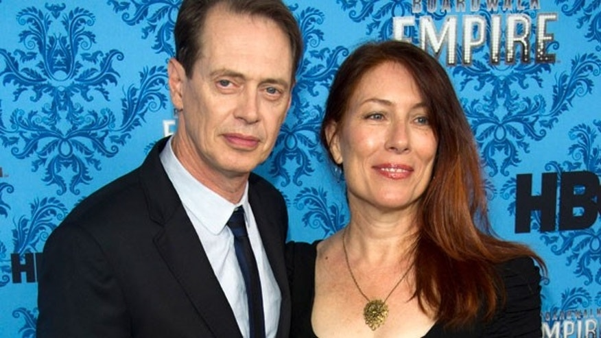 "Sept. 14: Steve Buscemi and his wife Jo Andres attend the premiere of HBO's ""Boardwalk Empire"" in New York."