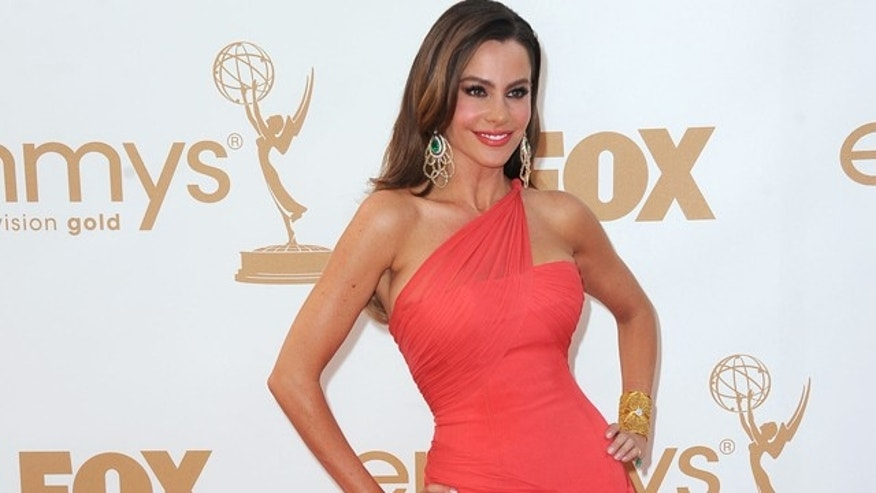Sept. 18, 2011: Sofía Vergara arrives at the 63rd Annual Primetime Emmy Awards held at Nokia Theatre L.A. LIVE in Los Angeles, Calif.
