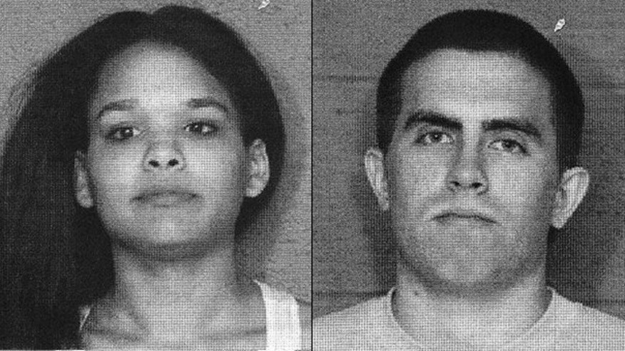 "Joshua Rendon, right, and Ebony Jackson-Rendon, who were featured on MTV's ""16 and Pregnant,"" were arrested Sept. 20"