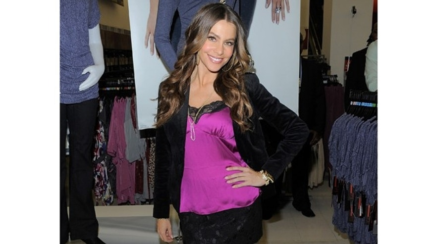 NEW YORK, NY - SEPTEMBER 22:  Actress Sofia Vergara poses for a photo during  the Sofia By Sofia Vergara collection launch at Kmart on September 22, 2011 in New York City.  (Photo by Jemal Countess/Getty Images)