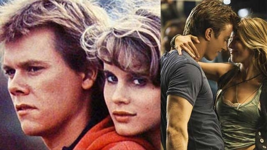 'Footloose' then and now. (Paramount)