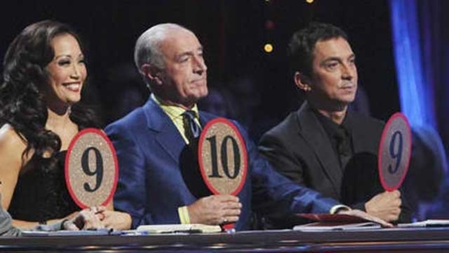 The judges on 'Dancing With the Stars.""