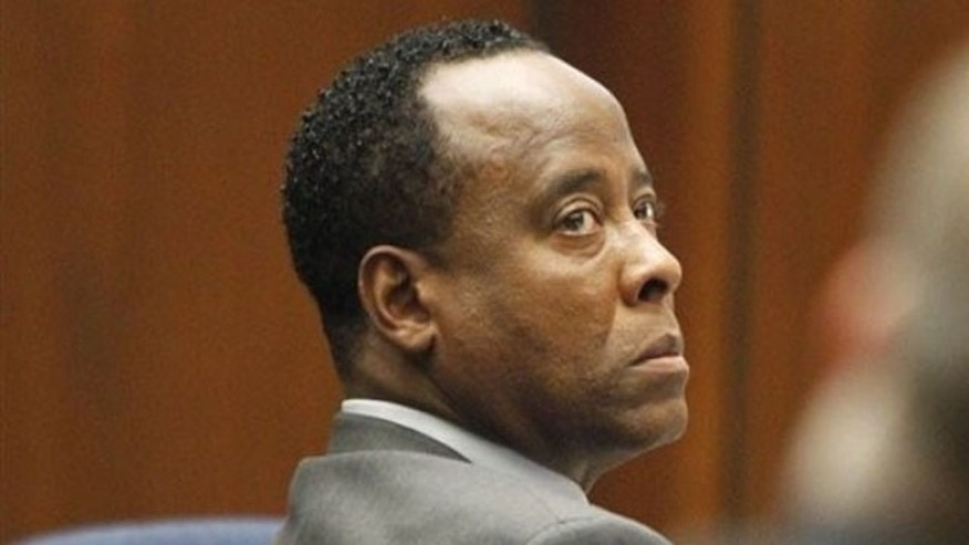 Sept. 28: Conrad Murray watches the court proceeding on the second day of his involuntary manslaughter trial in the death of pop star Michael Jackson in downtown Los Angeles.