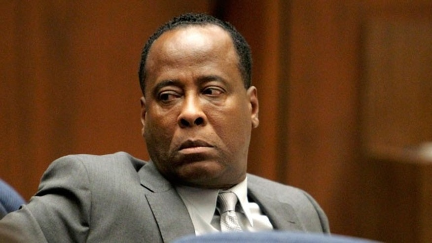 Oct. 20, 2011: Dr. Conrad Murray looks on during his involuntary manslaughter trial in Los Angeles.
