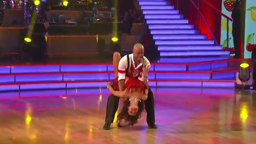 Nov. 7, 2011: J.R. Martinez Monday night on Dancing With the Stars. (ABC)
