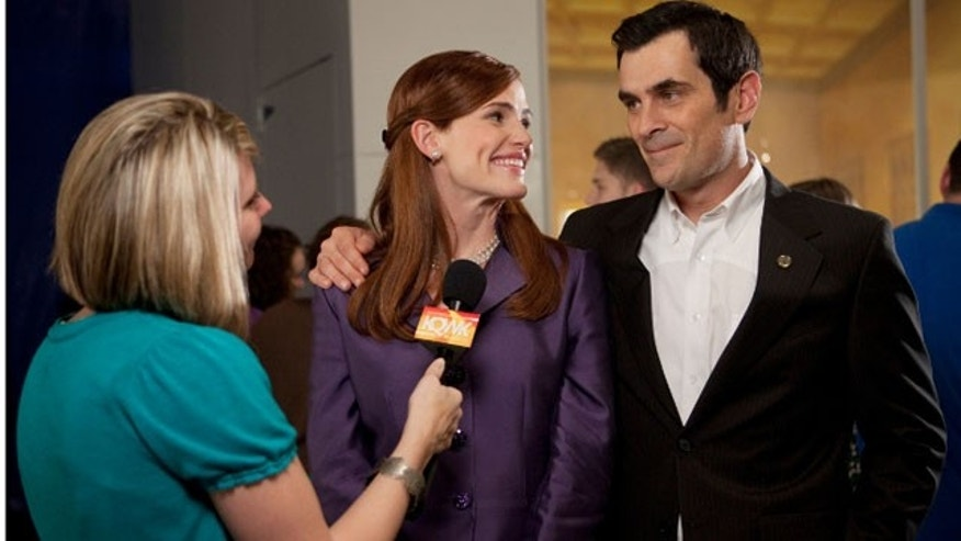 Jen Garner and Ty Burrell in 'Butter.'