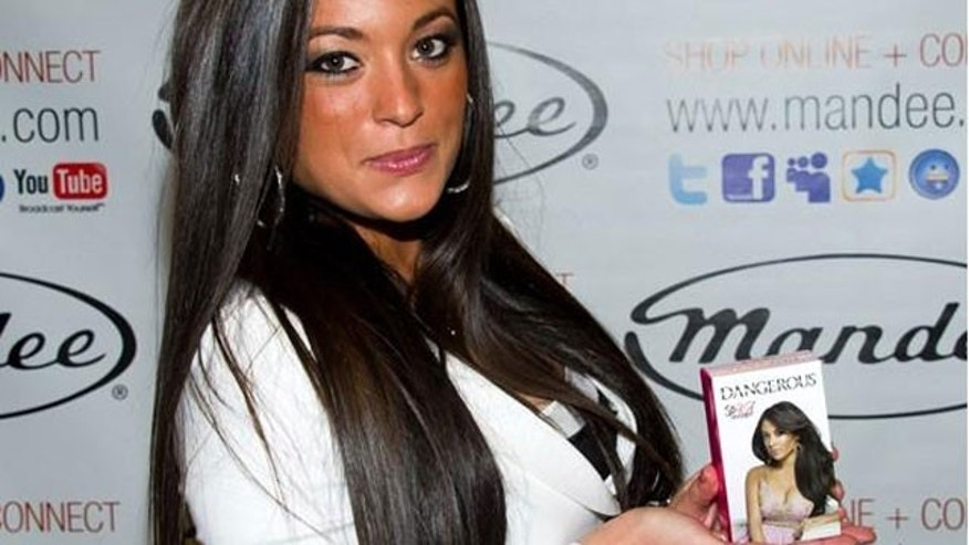 """Jersey Shore"" star Sammi ""Sweetheart"" Giancola at the launch of her fragrance, ""Dangerous""."