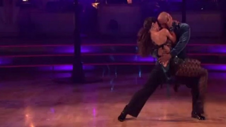 Nov. 14, 2011: J.R. Martinez Monday night on Dancing With the Stars. (ABC)