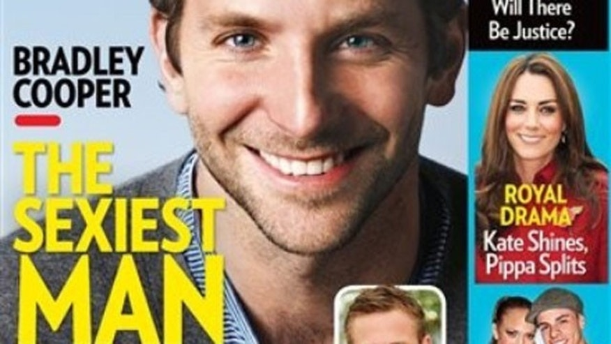 Bradley Cooper on the cover of People magazine.