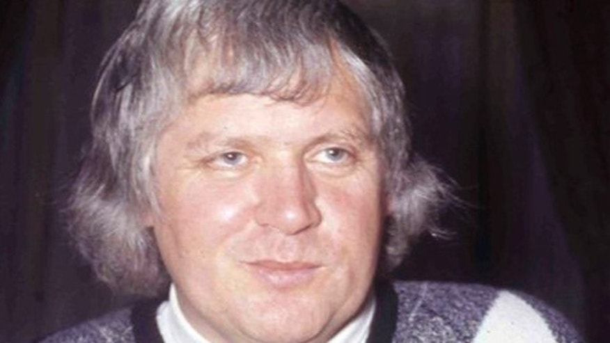 FILE- British film director Ken Russell at a reception to launch the film 'The Boy Friend' in London, England.