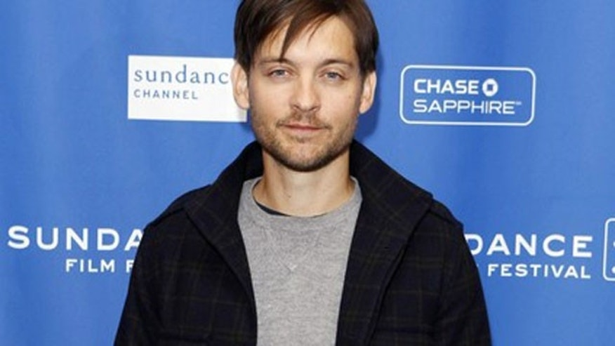 Tobey Maguire has been named in a lawsuit over a multi-million dollar illegal gambling ring. (Reuters)