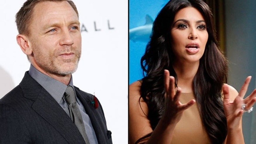 Daniel Craig says the Kardashians are (expletive) idiots. (Reuters)