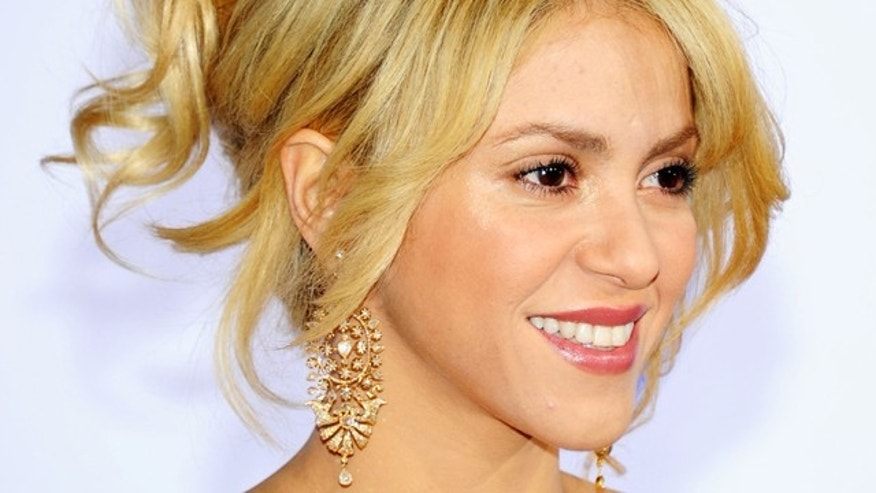 Nov. 10, 2011: Musician Shakira arrives at the 12th annual Latin GRAMMY Awards at the Mandalay Bay Resort & Casino in Las Vegas, Nev.