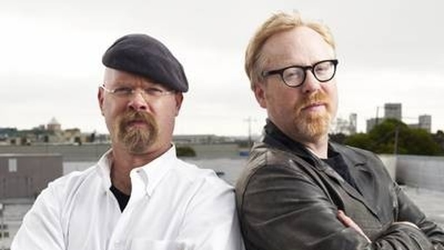 Mythbusters Jamie Hyneman and Adam Savage, seen here, have taken up President Obama's challenge to retest the Archimedes' solar ray theory.