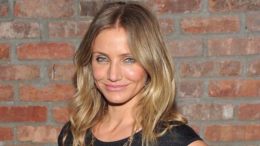 "June 20, 2011:  Actress Cameron Diaz attends the after party for the premiere ""Bad Teacher"" at the The Bowery Hotel in New York City."