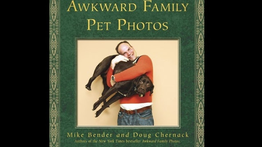 One celeb couple will be receiving the Awkward Family Pet Photos book this holiday season.