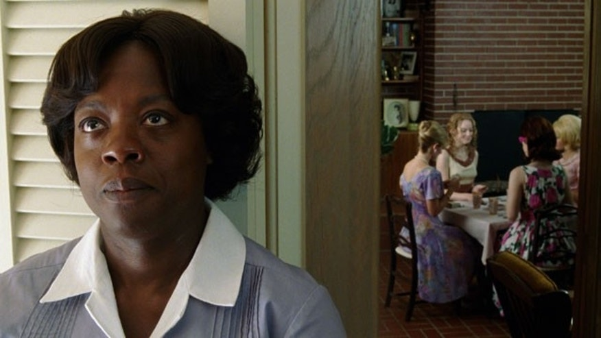 "In this film publicity image released by Disney, Viola Davis is shown in a scene from ""The Help."" (AP)"
