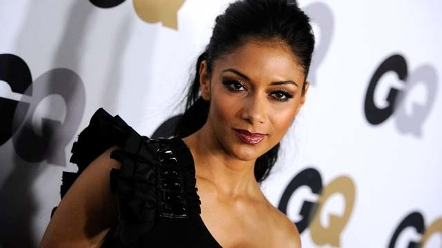 "NOV 17, 2011:  Singer Nicole Scherzinger arrives at the 16th Annual GQ ""Men Of The Year"" Party at Chateau Marmont in Los Angeles, Calif."