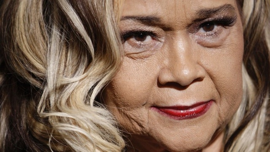 "Nov. 24, 2008: FILE - This file photo shows Etta James arriving at the premiere of ""Cadillac Records"" in Los Angeles."