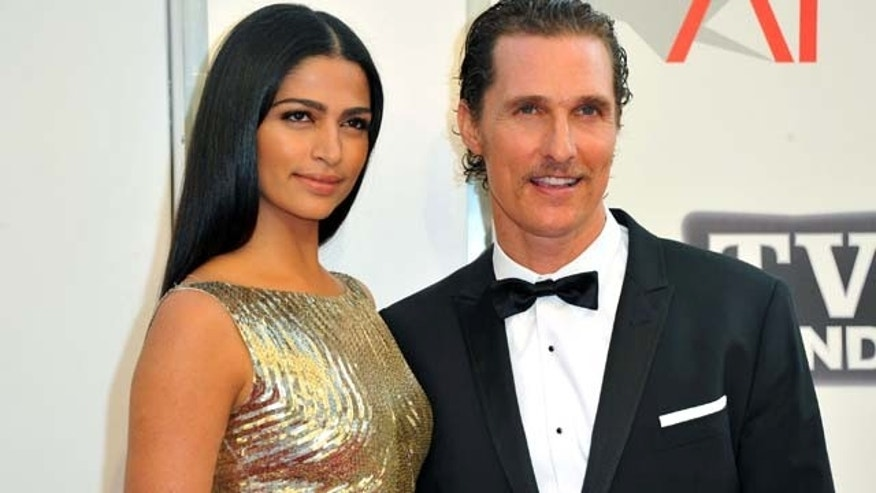 June 9, 2011: Model Camila Alves and actor Matthew McConaughey arrive at the 39th AFI Life Achievement Award Honoring Morgan Freeman held at Sony Pictures Studios in Culver City, Calif.