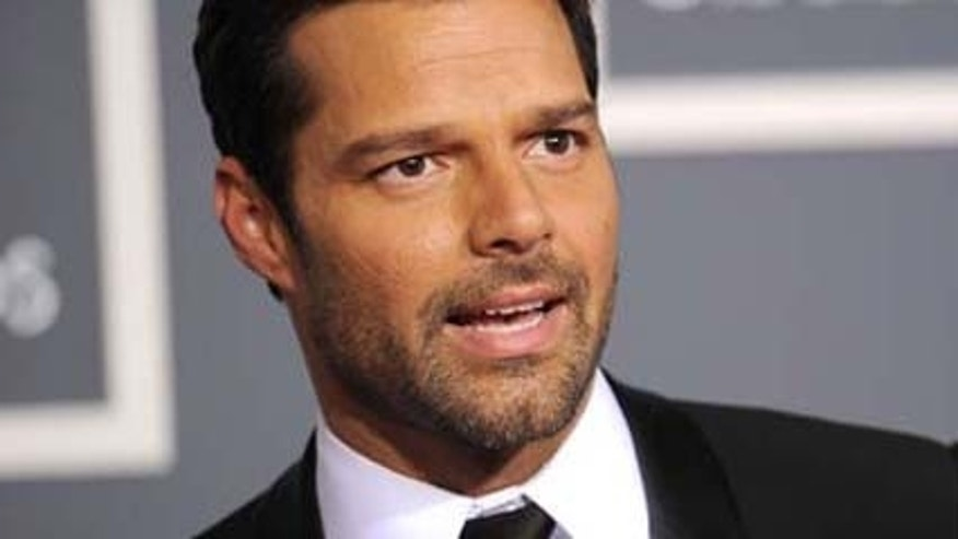 Feb, 13, 2011: Ricky Martin arrives at The 53rd Annual GRAMMY Awards held at Staples Center in Los Angeles, Calif.