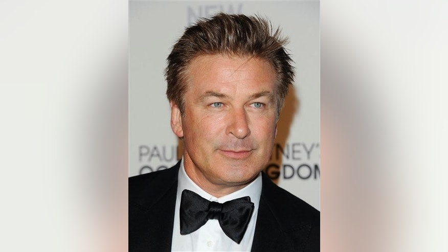 "In this Sept. 22, 2011 file photo, actor Alec Baldwin attends the New York City Ballet's gala opening night of Paul McCartney's ""Ocean's Kingdom""."