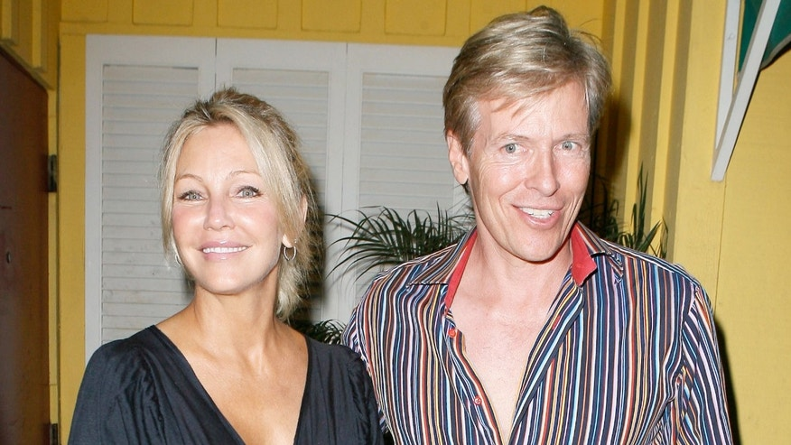 Heather Locklear and ex-boyfriend Jack Wagner at Dan Tana's in 2009.