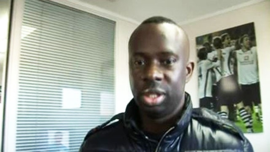Chris Nathaniel is seen here in a grab from one of his YouTube video diaries.