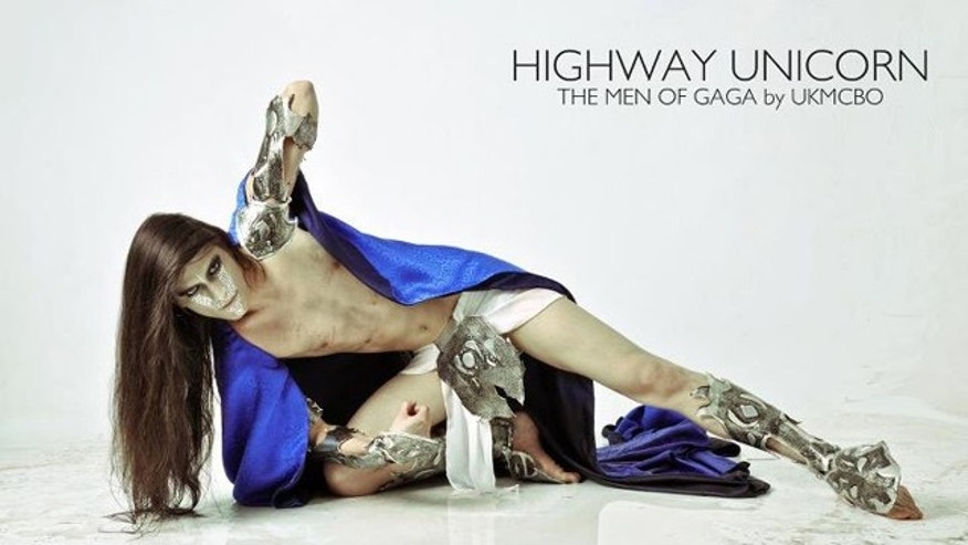The men of Gaga 'Highway Unicorn' by UKMCBO