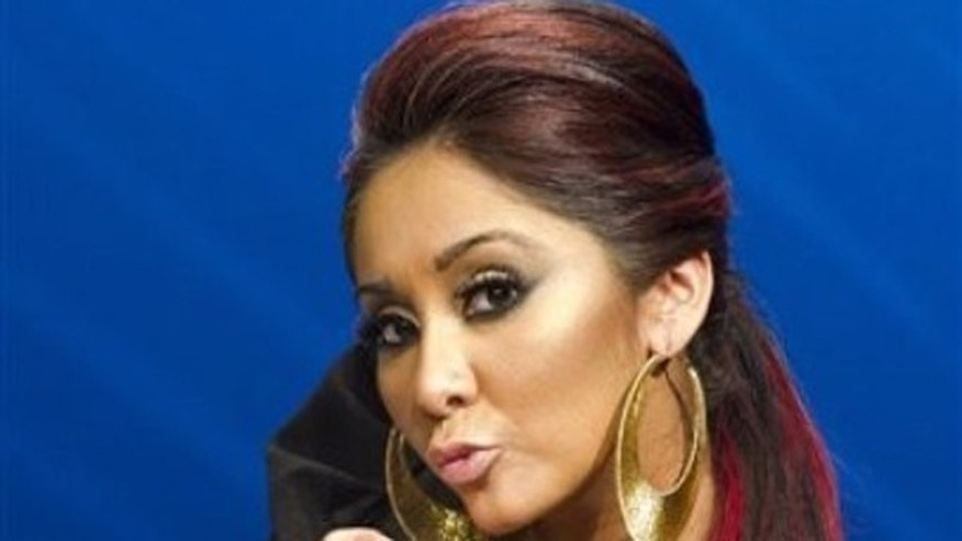 "Feb. 1, 2012: Nicole ""Snooki"" Polizzi poses for a portrait in New York."