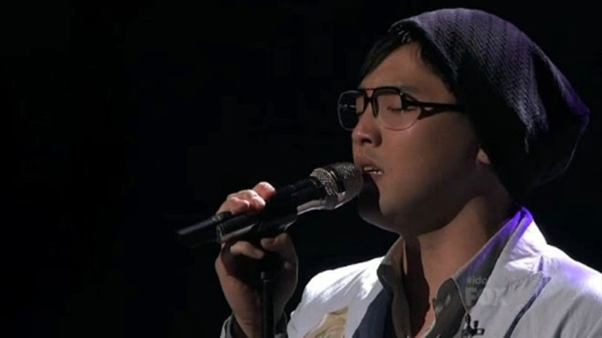 "Heejun Han performs ""A Song For You"" by Donny Hathaway."
