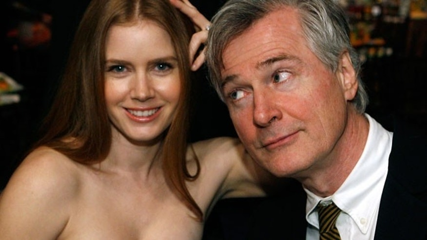 Jan. 2009: Actress Amy Adams and writer John Patrick Shanley pose together at the 14th annual Critics' Choice awards in Santa Monica, California