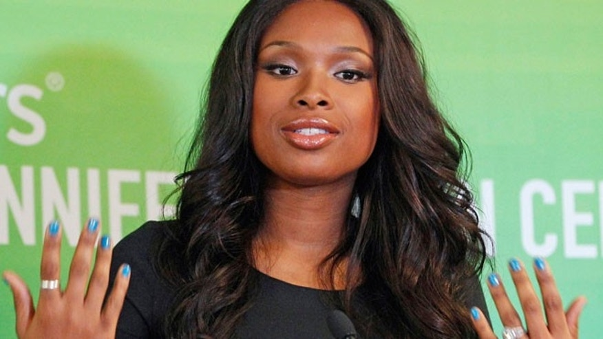 In this Sept. 27, 2011 file photo, singer and Oscar-winning actress Jennifer Hudson speaks in Chicago.