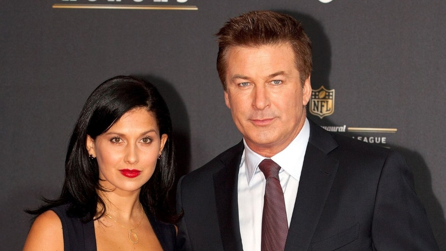 INDIANAPOLIS, IN - FEBRUARY 04:  Hilaria Thomas and Alec Baldwin attend the 2012 NFL Honors at the Murat Theatre on February 4, 2012 in Indianapolis, Indiana.  (Photo by Joey Foley/Getty Images)