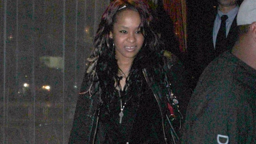 Bobbi Kristina, daughter of Whitney Houston