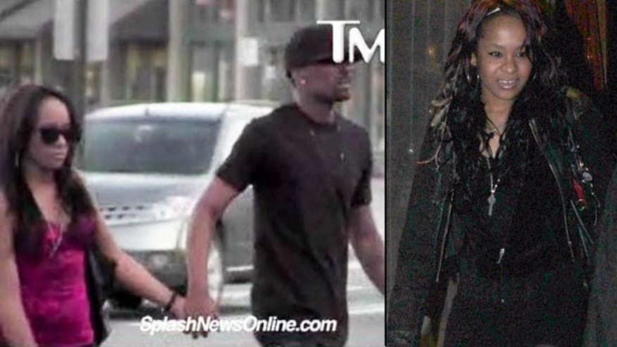 Bobbi Kristina and her new rumored boyfriend, family friend Nick (TMZ/X17 Online)
