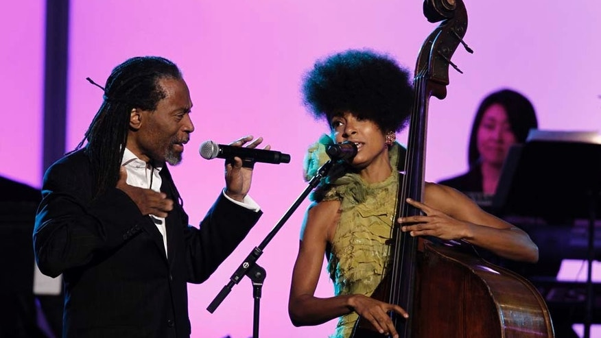 Feb. 13, 2011: Esperanza Spalding at the annual Grammy presentation.