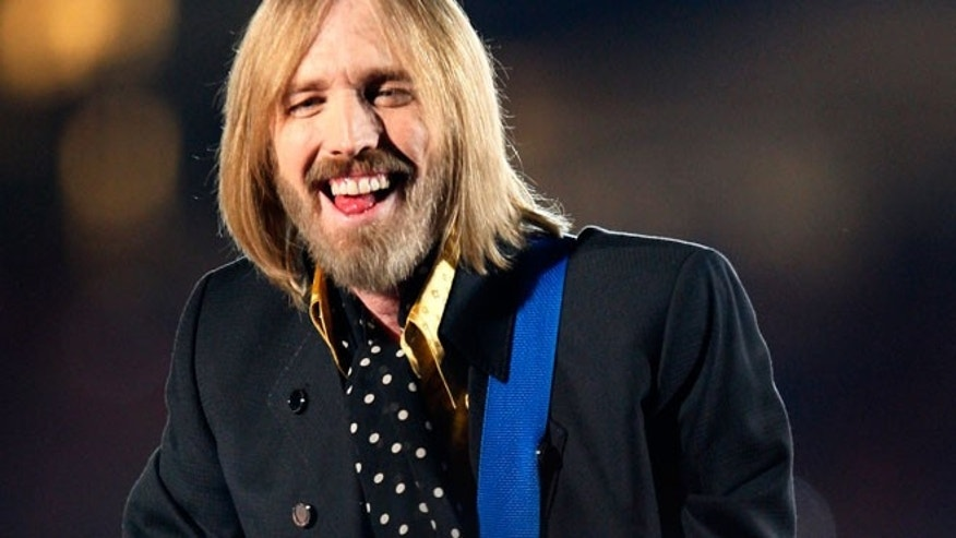 April 2008: Singer Tom Petty and the Heartbreakers perform during the half time show at Super Bowl XLII in Glendale.