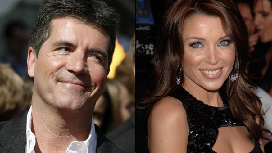 "Simon Cowell and former ""X Factor"" judge Dannii Minogue reportedly had an affair, a new book claims."