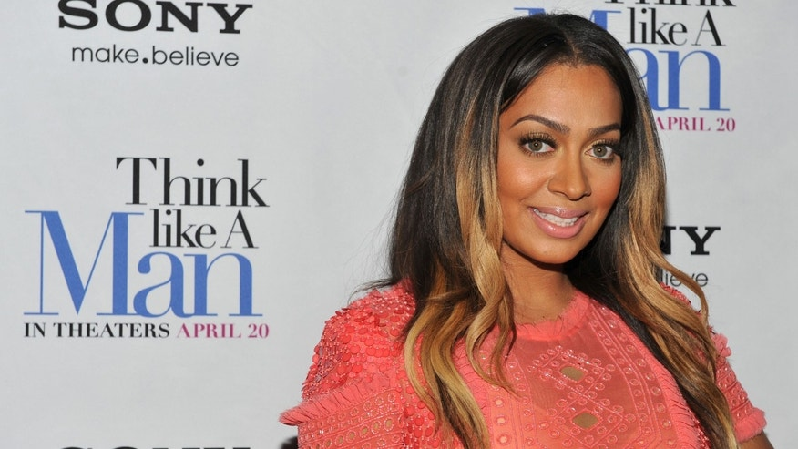 "NEW YORK, NY - APRIL 04: La La Anthony attends the ""Think Like a Man"" screening at the AMC Empire 25 theater on April 4, 2012 in New York City. (Photo by Fernando Leon/Getty Images)"