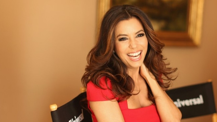April 18, 2012: Actress Eva Longoria attends the NBCUniversal summer press day held at The Langham Huntington Hotel and Spa in Pasadena, California.