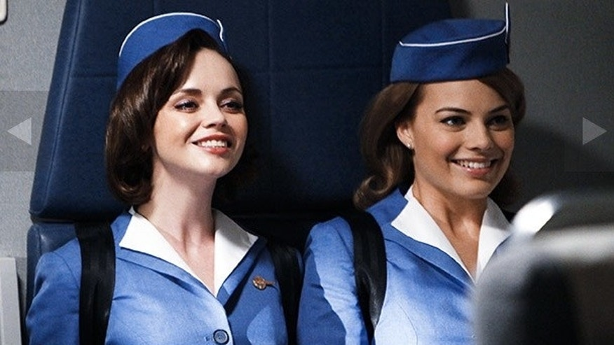 Two of the cast members from ABC's 'Pan Am'