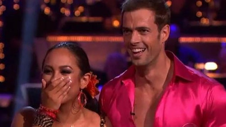 "May 14, 2012: William Levy and Cheryl Burke dance the samba Monday on ""Dancing With the Stars."""