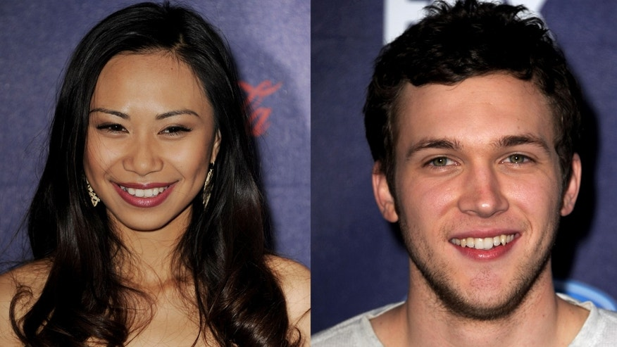 Jessica Sanchez and Phillip Phillips.