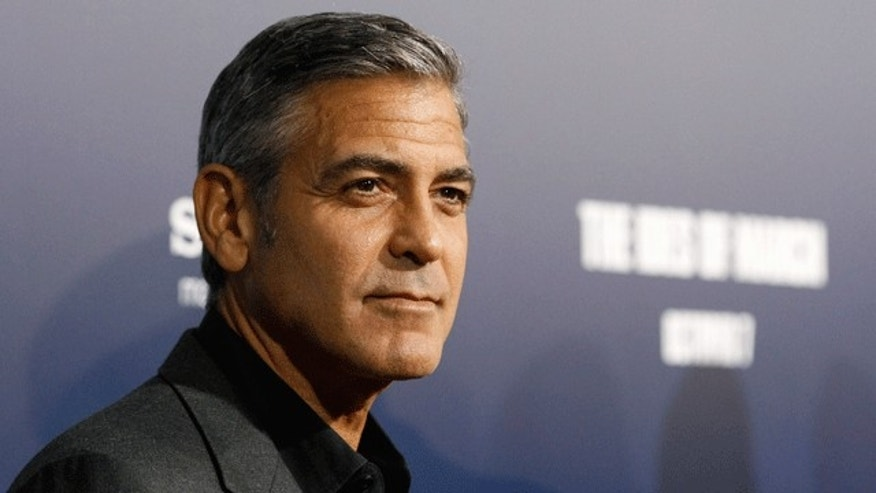 George Clooney: One of Hollywood's most confident men.