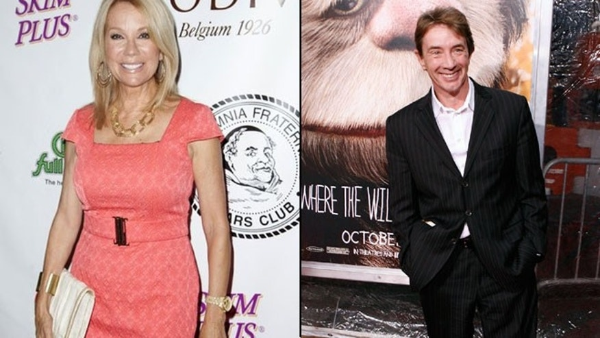 Kathie Lee Gifford had an awkward interview with Martin Short on 'Today' Wednesday.