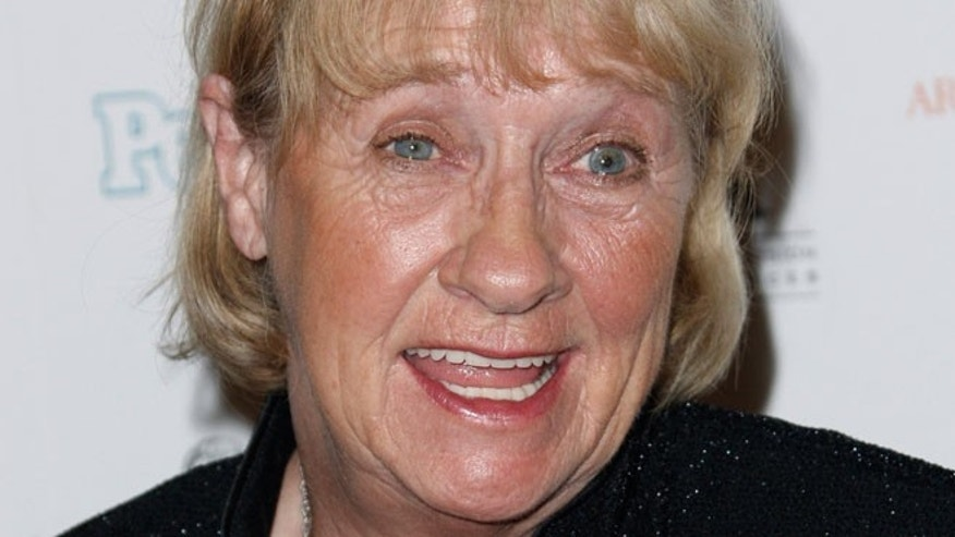 In this Sept. 19, 2008 file photo, Kathryn Joosten arrives at the 2008 Primetime Emmy Awards Nominees for Outstanding Performance reception in Los Angeles.