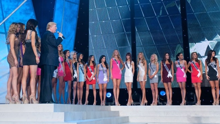 The Miss USA contestants