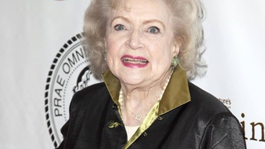 May 16: Betty White at her Friar's Club Roast.